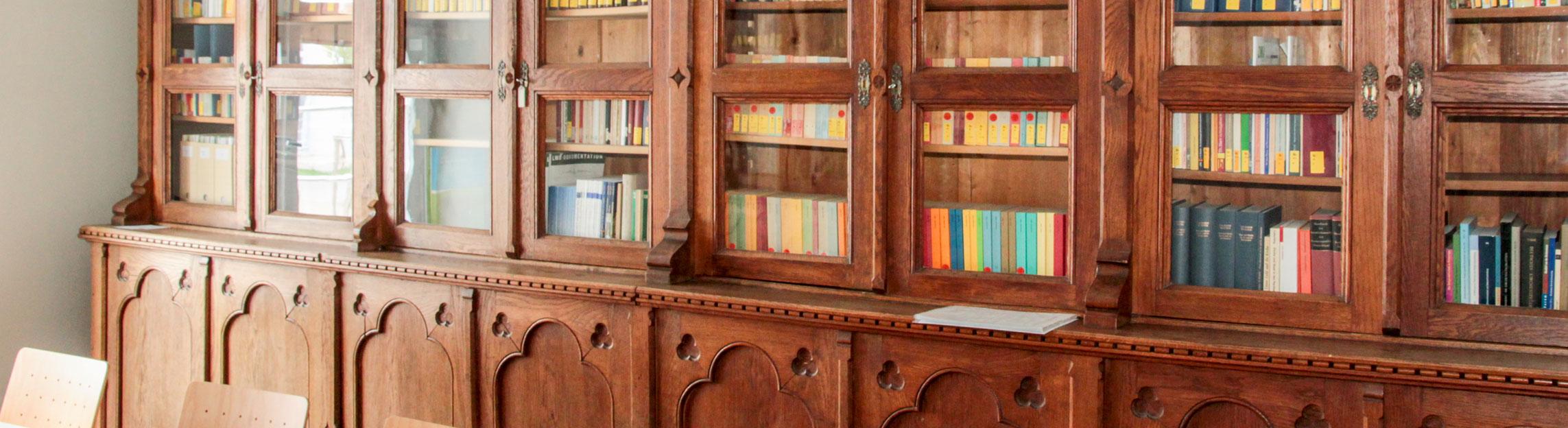 Bibliothek Evangelisches Studienseminar Hofgeismar Ausbildung
